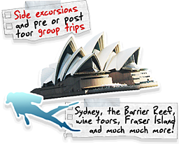 Groups and tour operators - side excursions