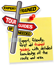 Groups and tour operators - expert trained guides