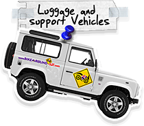Groups and tour operators - support vehicles