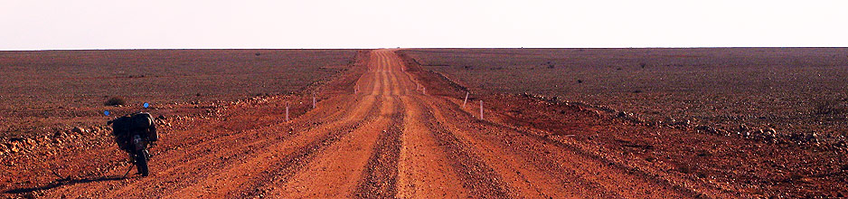 The desert around Coober Pedy