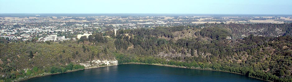 The Blue Lake Mount Gambier