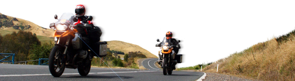 Full and half continent motorbike tours