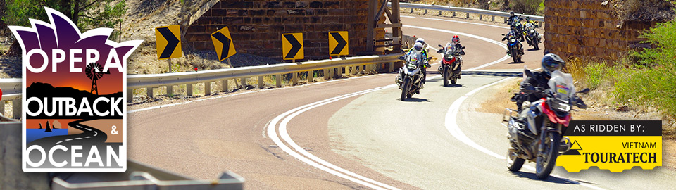 Opera, Outback and Ocean motorcycle adventure