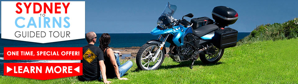 Sydney to Cairns Discounted Guided motorbike tour - One time, special offer!