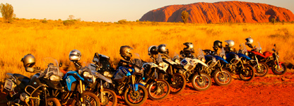 Iconic Australia guided motorcycle tour'